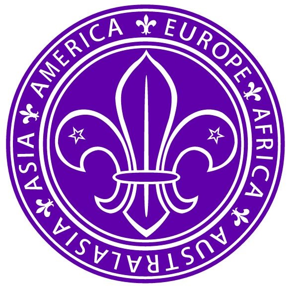 World Scout Emblem 1939-1955.  Logo Copyright © Boy Scouts of America.