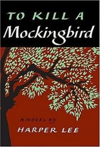 Genuine Americana: The first edition dust jacket for Harper Lee's To Kill a Mockingbird, circa 1960.  Copyright © J. B. Lippincott & Co.