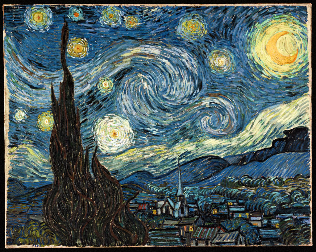 Possibly my favorite painting, The Starry Night by the incomparable Vincent van Gogh, circa 1889.  Van Gogh would paint the masterpiece one year after cutting off his own ear.  Currently at the Museum of Modern Art in New York City, USA, it is not for sale.  Estimates for the extremely iconic painting range from $100 million to priceless.
