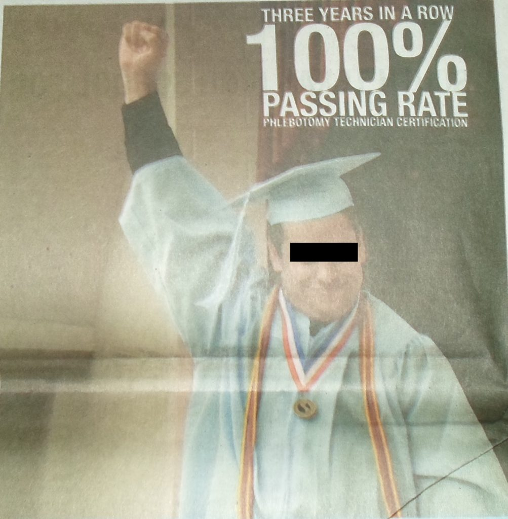 100 percent passing rate