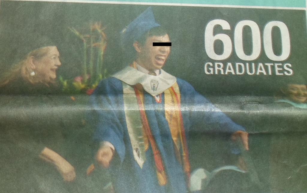 600 graduates