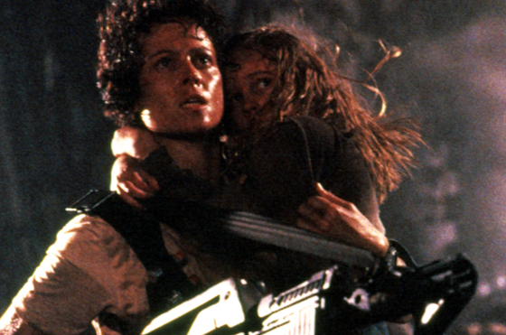 A still from the film Aliens.