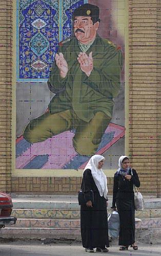 SaddamHusseinMural