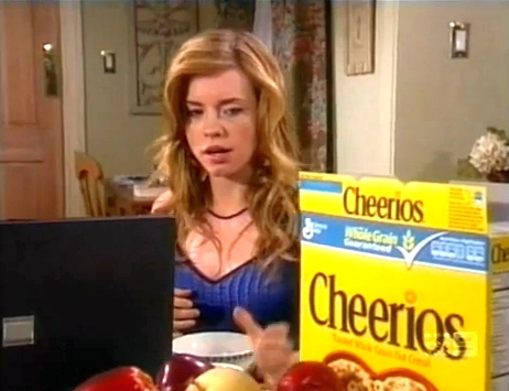 A big box of Cheerios in Days of Our Lives.